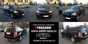 Аренда  Mercedes-Benz GL 550 черного цвета