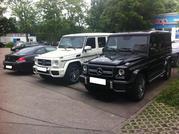 Серьезные автомобили для серьезных людей - Mercedes-Benz G-Class,  G63