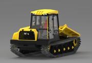 МГ-4 (ТТ-4М) гусеничный трелевочный трактор